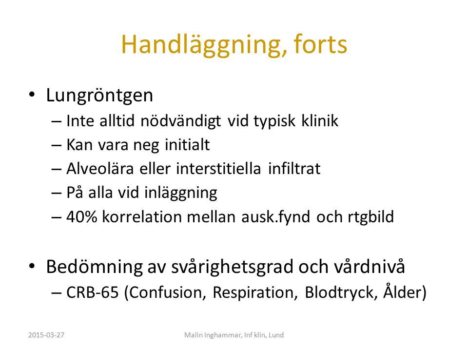 Malin Inghammar, Inf klin, Lund