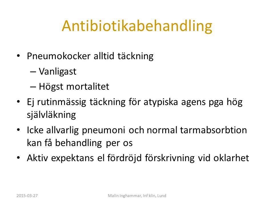 Antibiotikabehandling