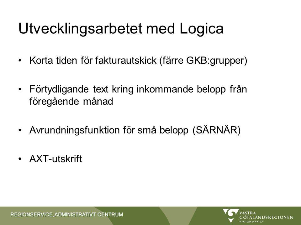 Utvecklingsarbetet med Logica