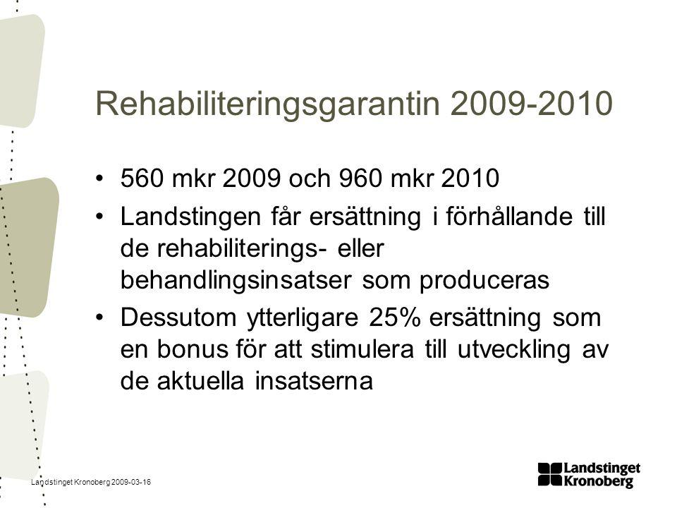 Rehabiliteringsgarantin 2009-2010