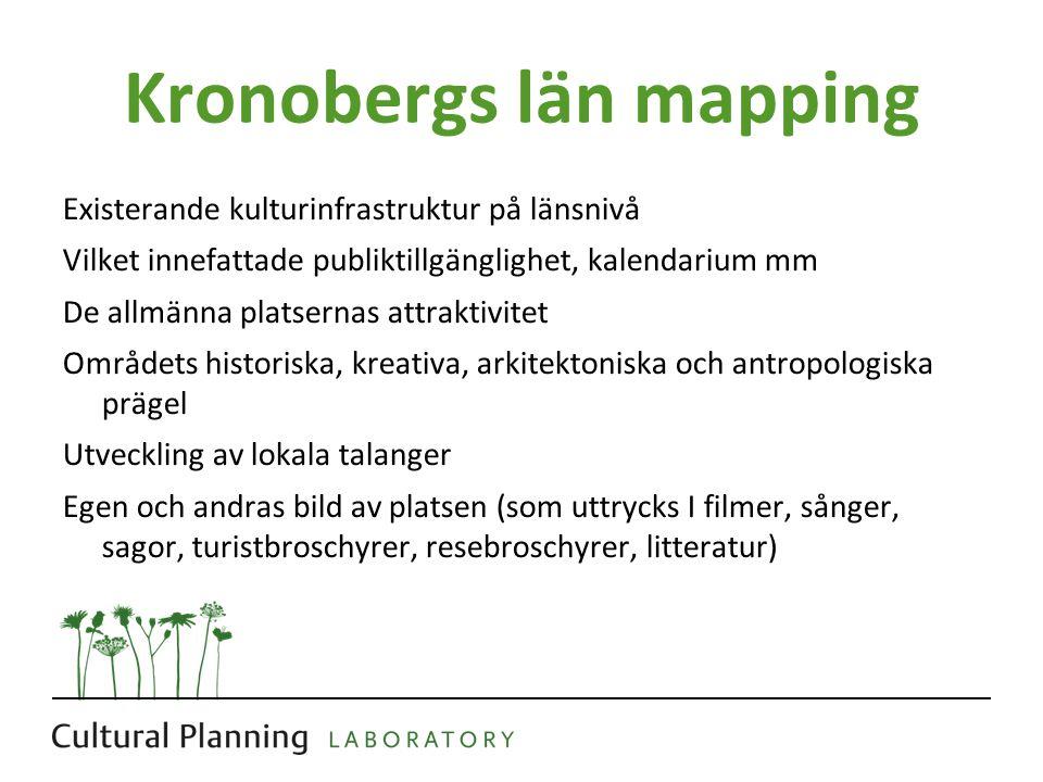 Kronobergs län mapping