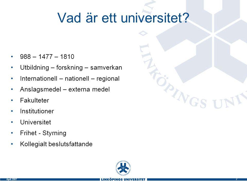 Vad är ett universitet 988 – 1477 – 1810