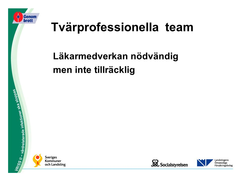 Tvärprofessionella team
