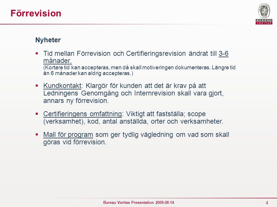 Förrevision Nyheter.