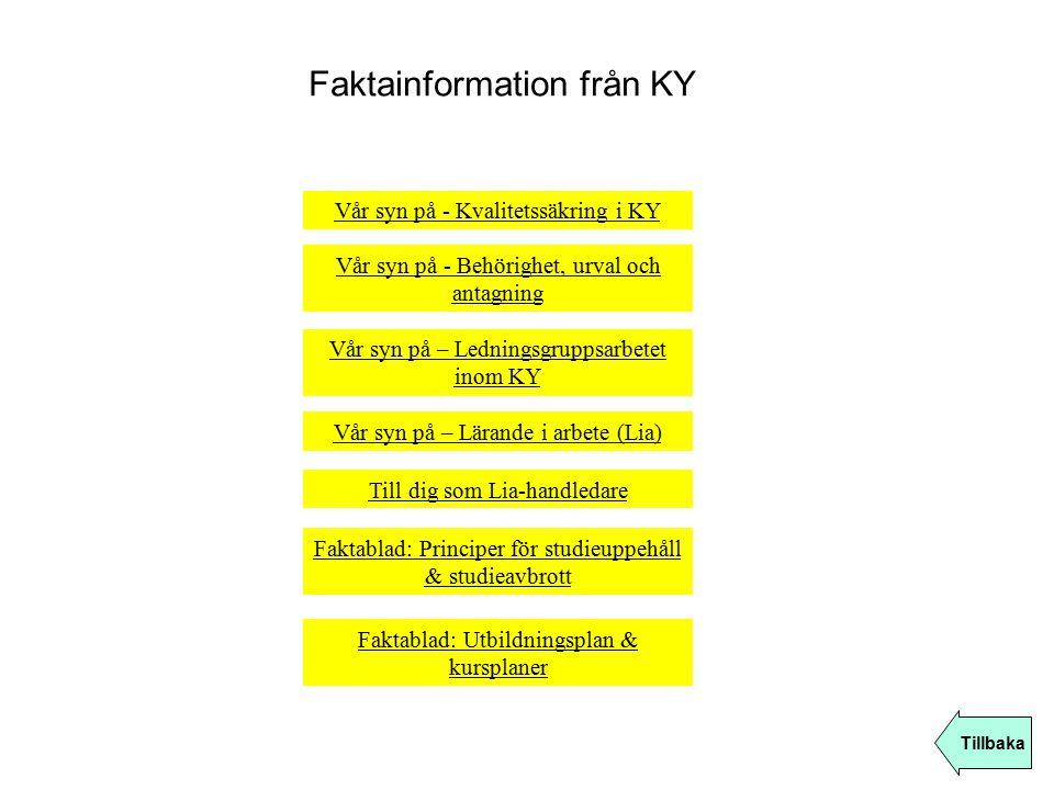 Faktainformation från KY