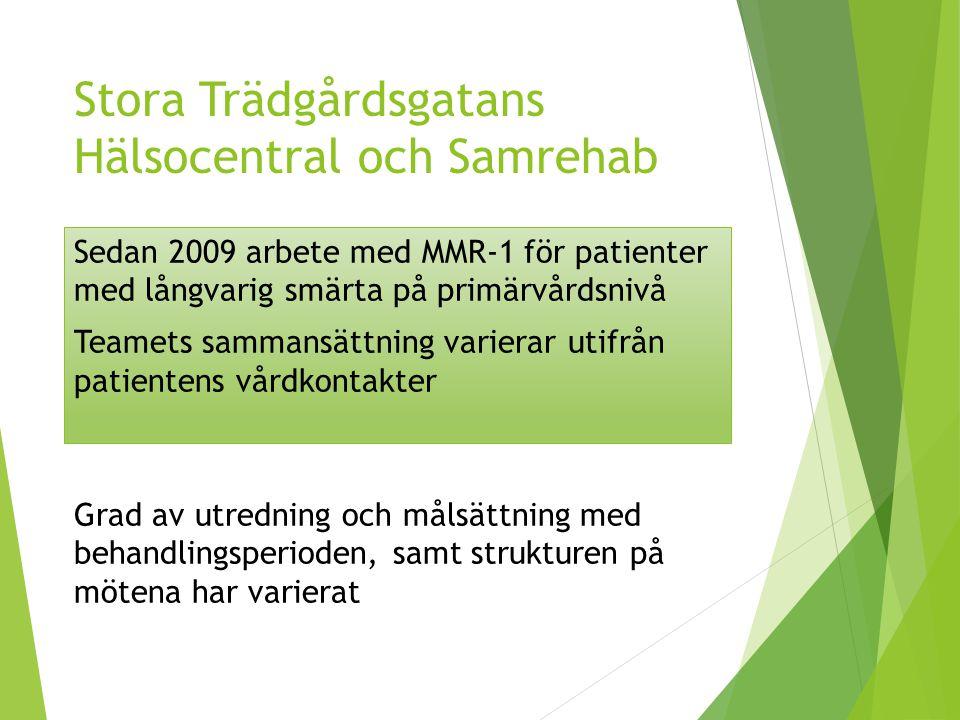 Stora Trädgårdsgatans Hälsocentral och Samrehab