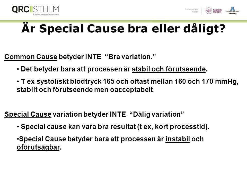 Är Special Cause bra eller dåligt