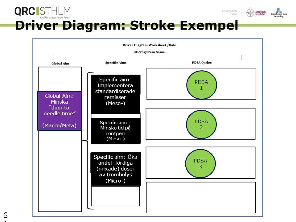 Driver Diagram: Stroke Exempel