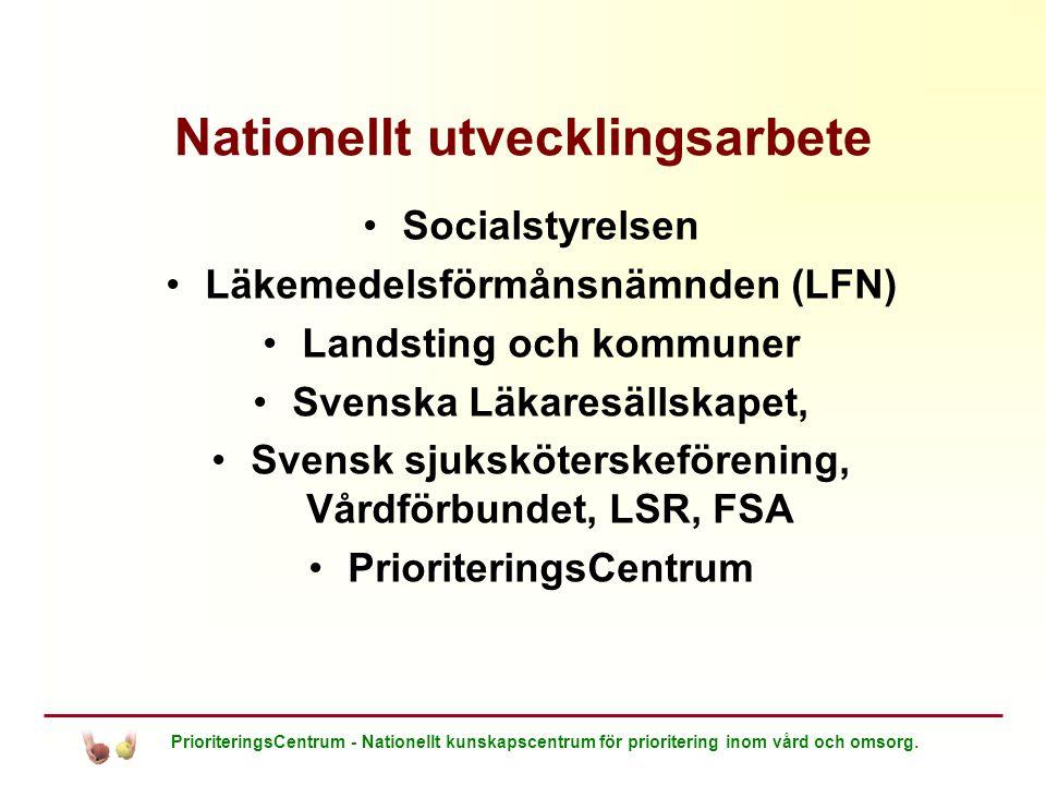 Nationellt utvecklingsarbete