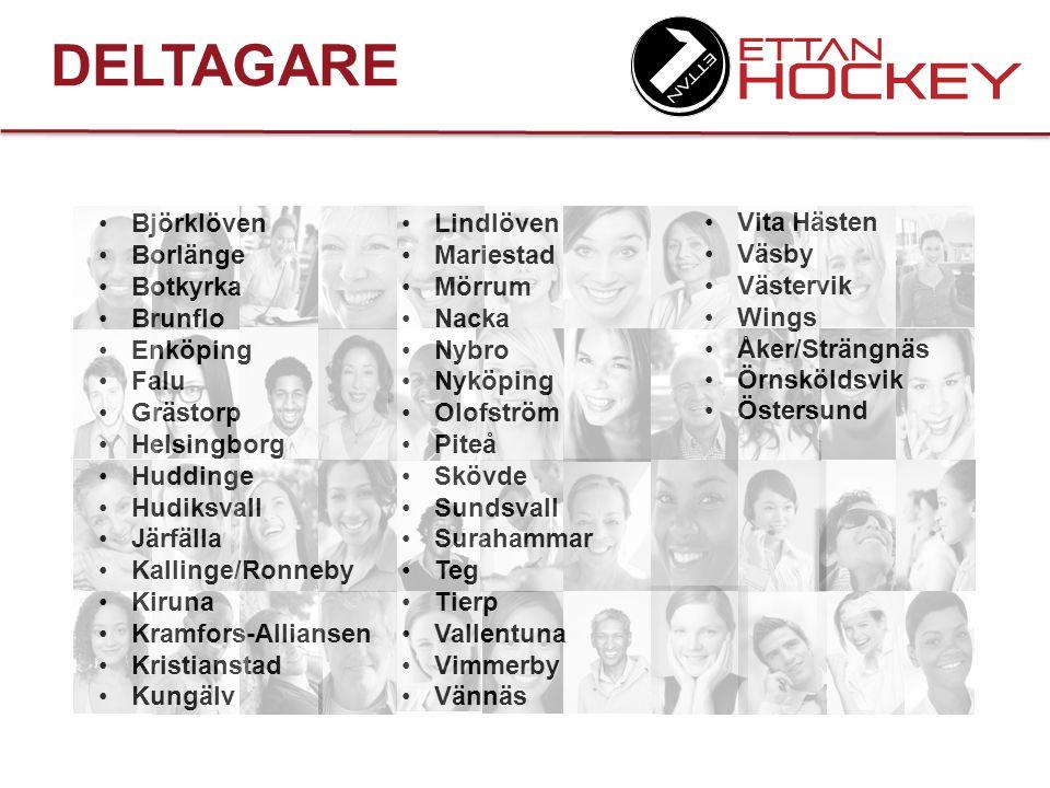 DELTAGARE Björklöven Borlänge Botkyrka Brunflo Enköping Falu Grästorp