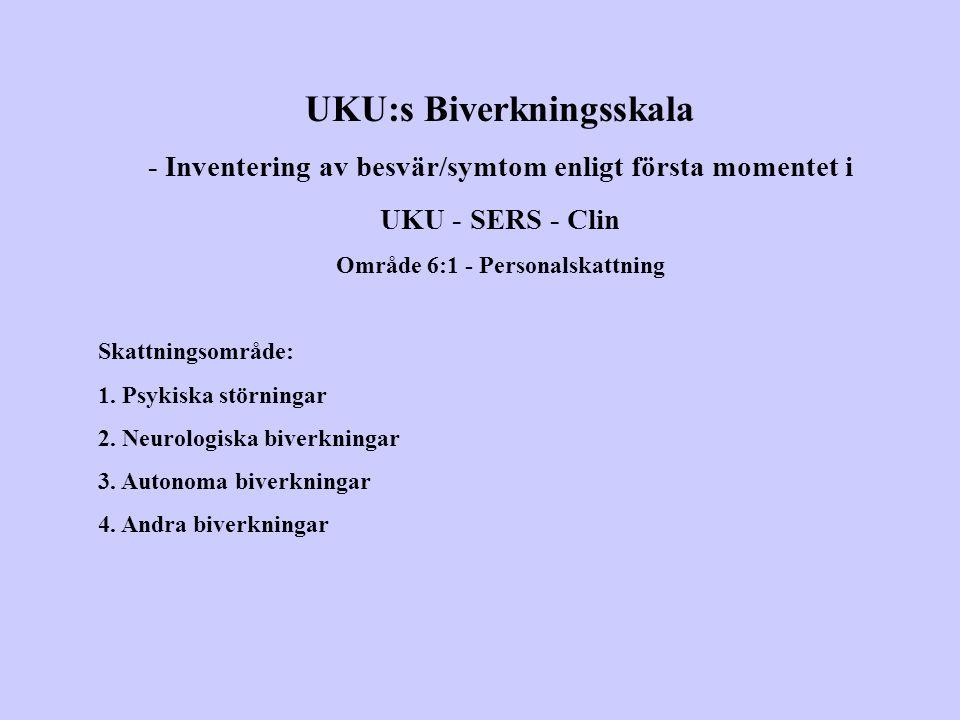 UKU:s Biverkningsskala