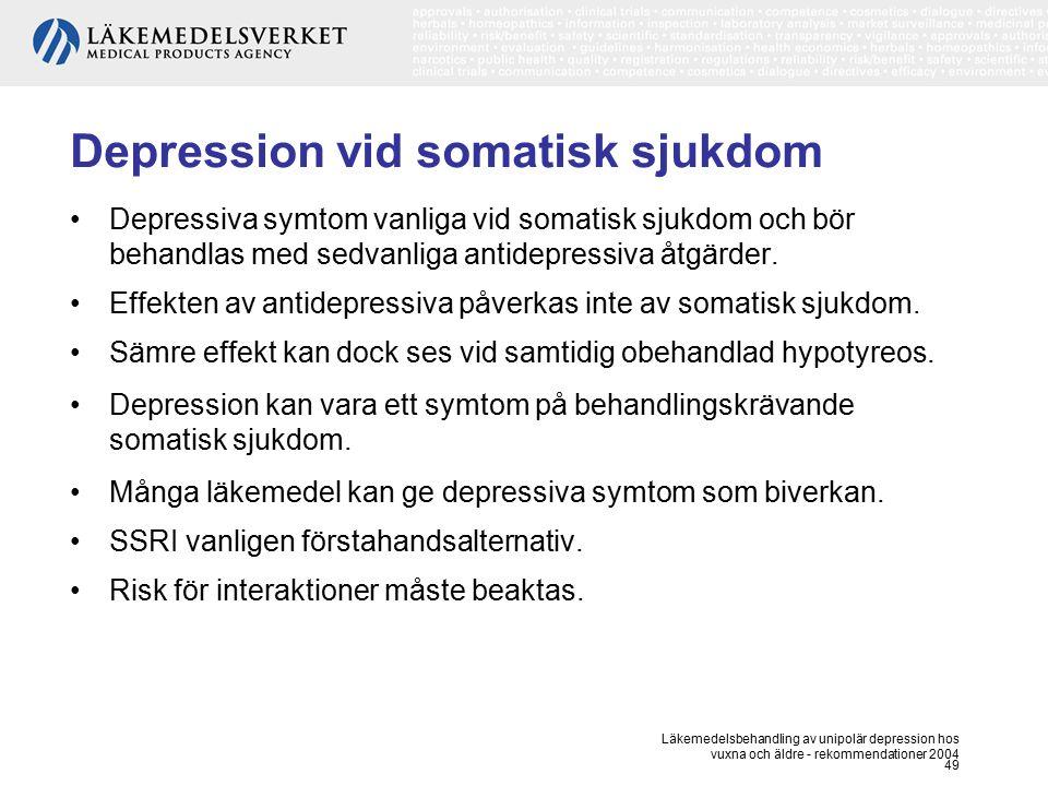 Depression vid somatisk sjukdom