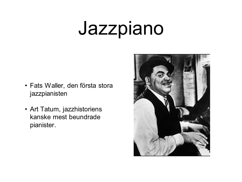 Jazzpiano Fats Waller, den första stora jazzpianisten