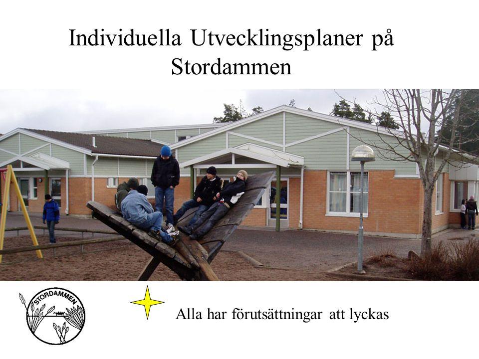 Individuella Utvecklingsplaner på Stordammen