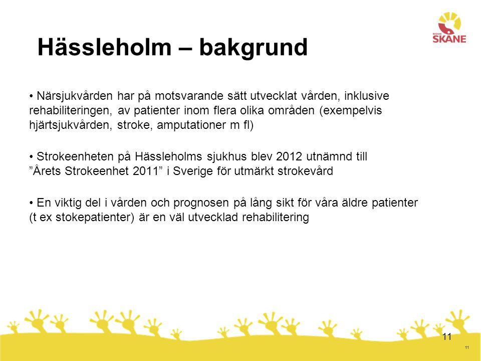 Hässleholm – bakgrund