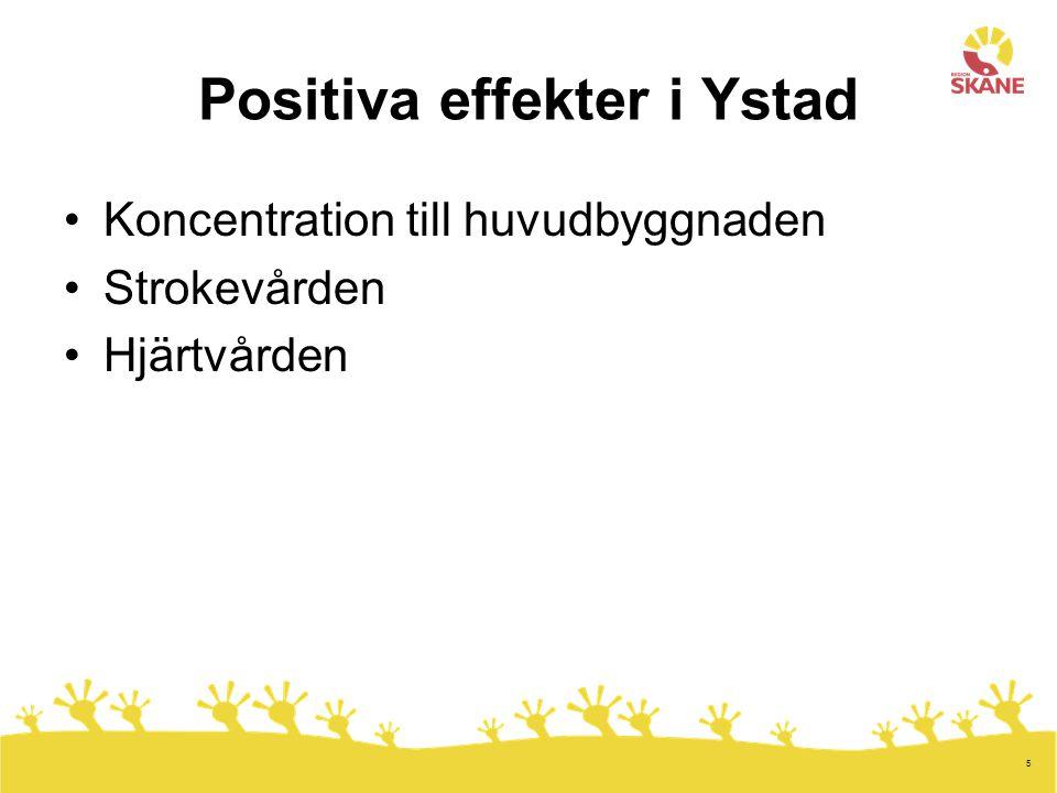 Positiva effekter i Ystad