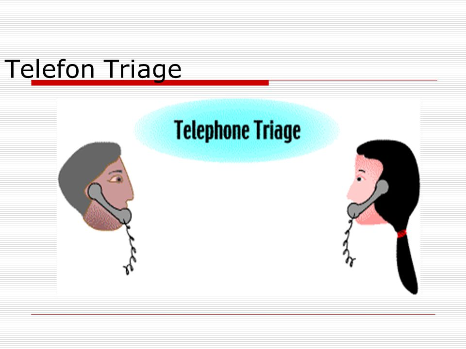 Telefon Triage