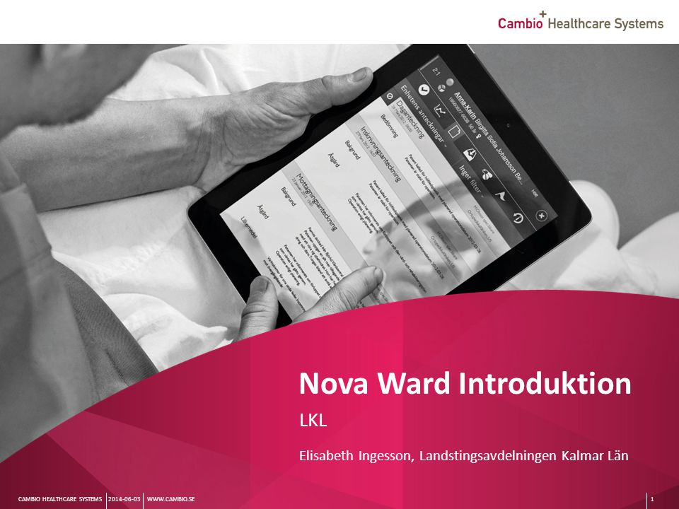 Nova Ward Introduktion