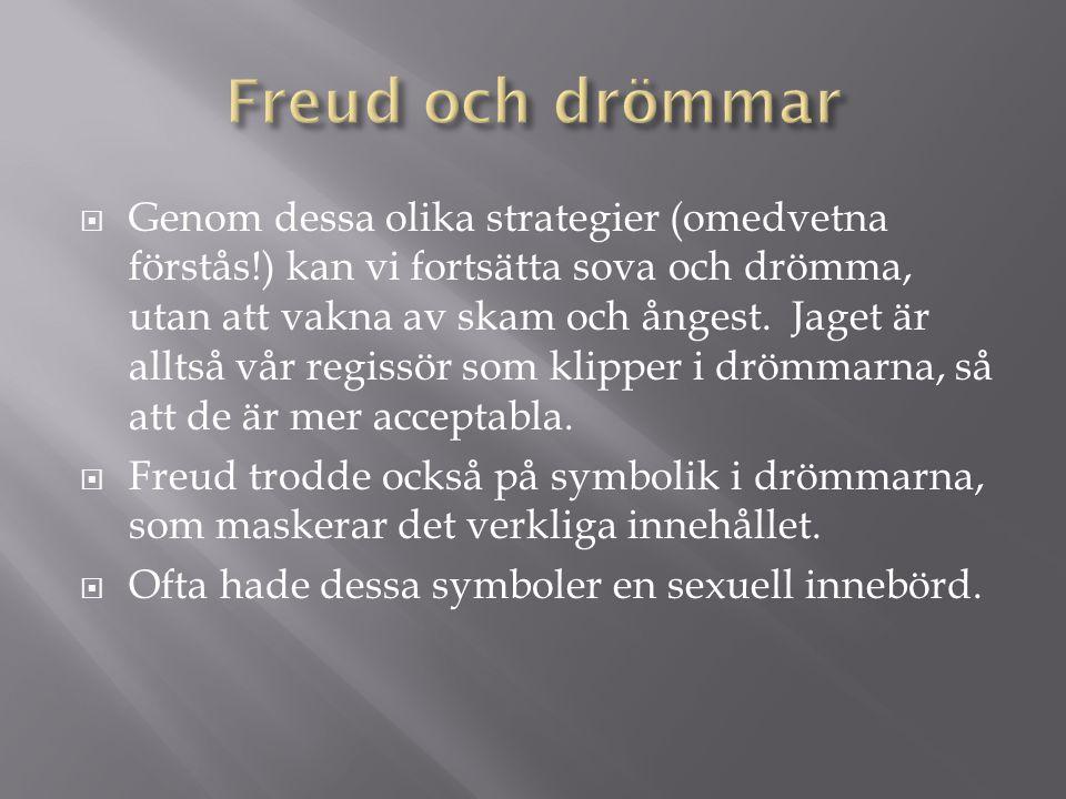 Freud och drömmar