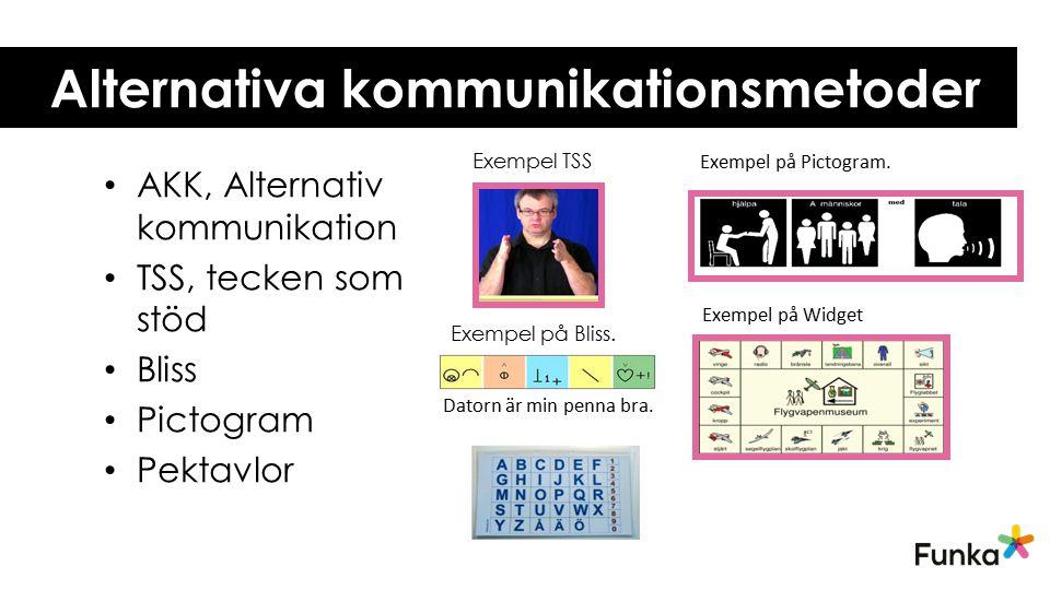 Alternativa kommunikationsmetoder