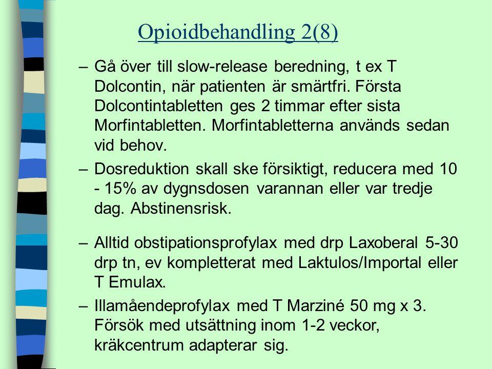 Opioidbehandling 2(8)