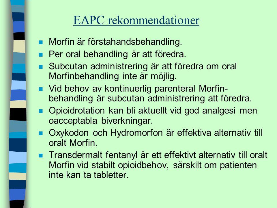 EAPC rekommendationer