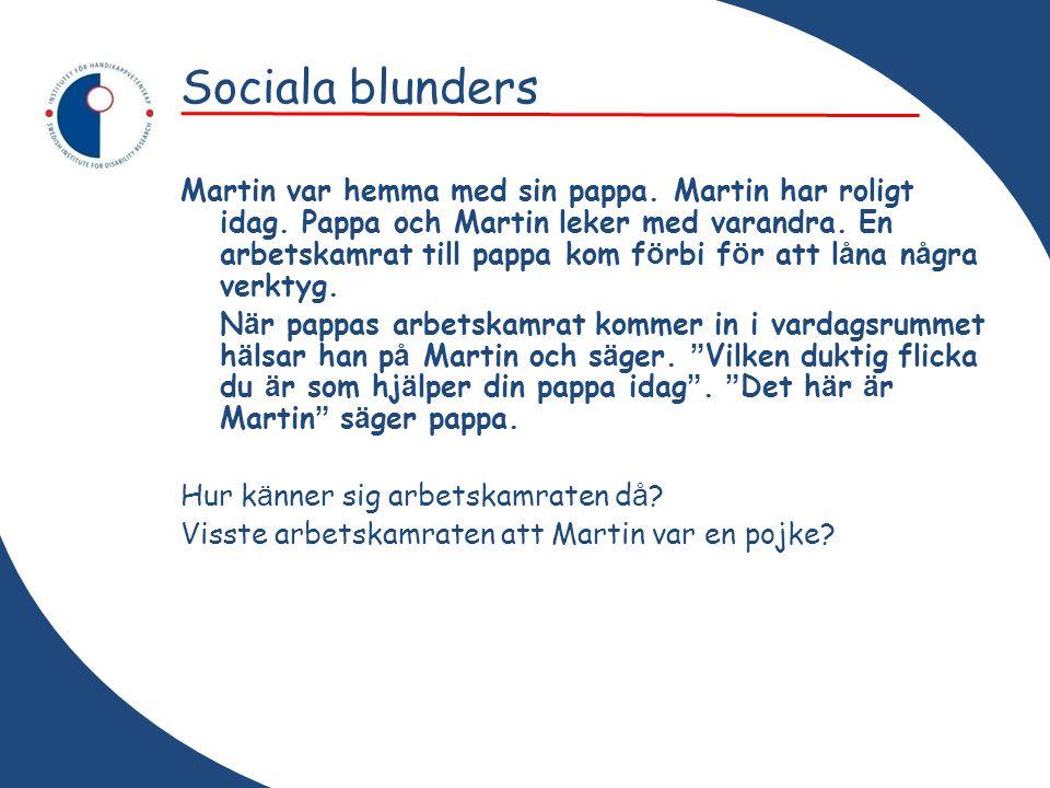 Sociala blunders