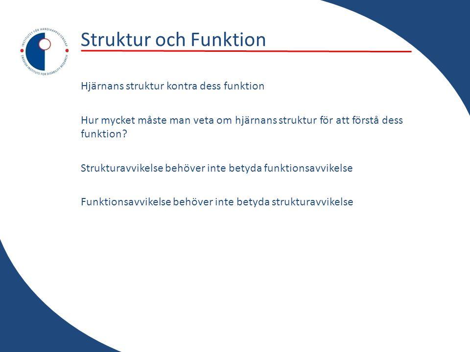 Struktur och Funktion