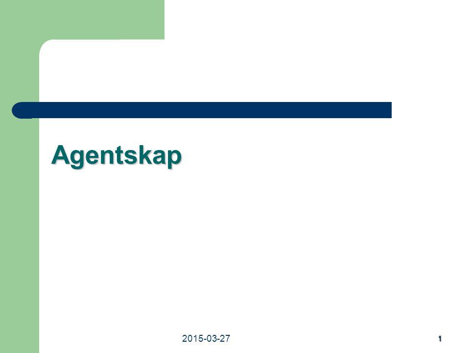 Agentskap 2017-04-08