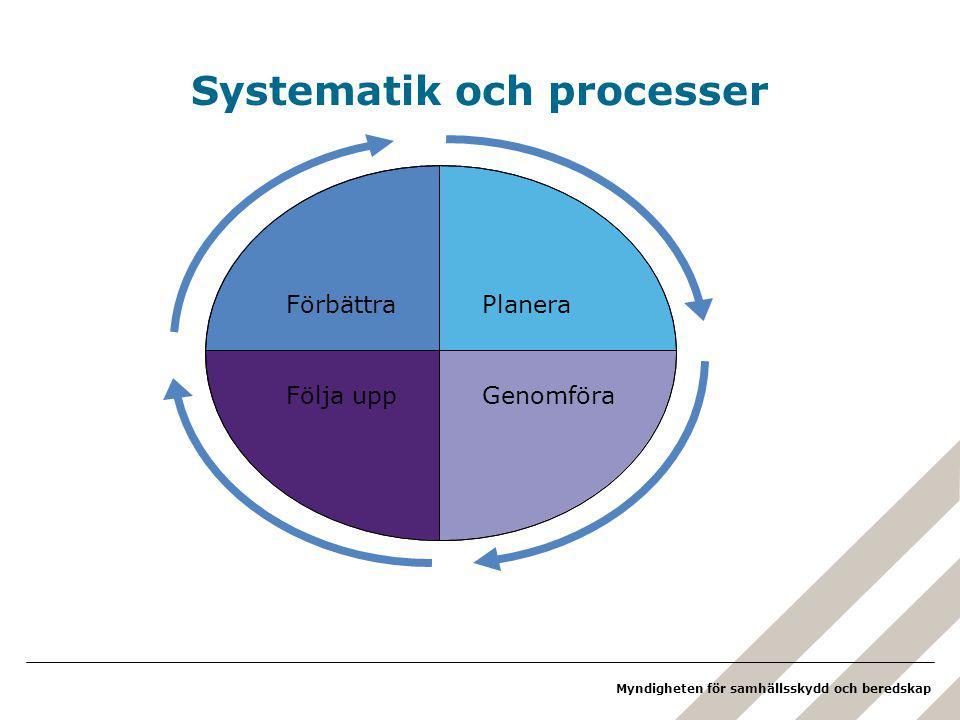 Systematik och processer