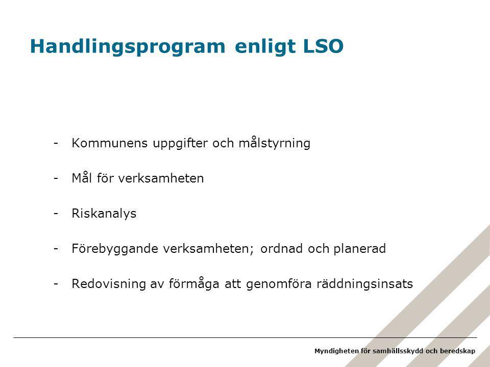 Handlingsprogram enligt LSO