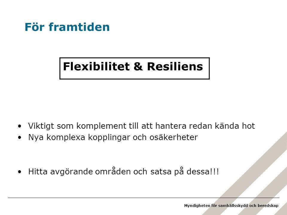 Flexibilitet & Resiliens