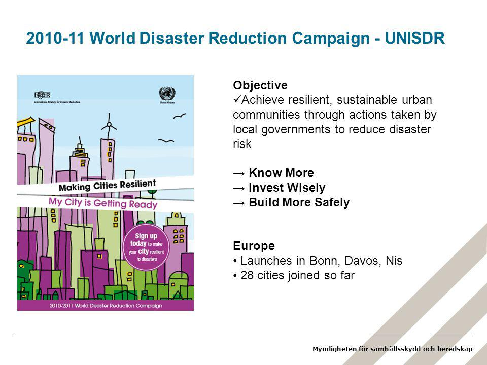 2010-11 World Disaster Reduction Campaign - UNISDR