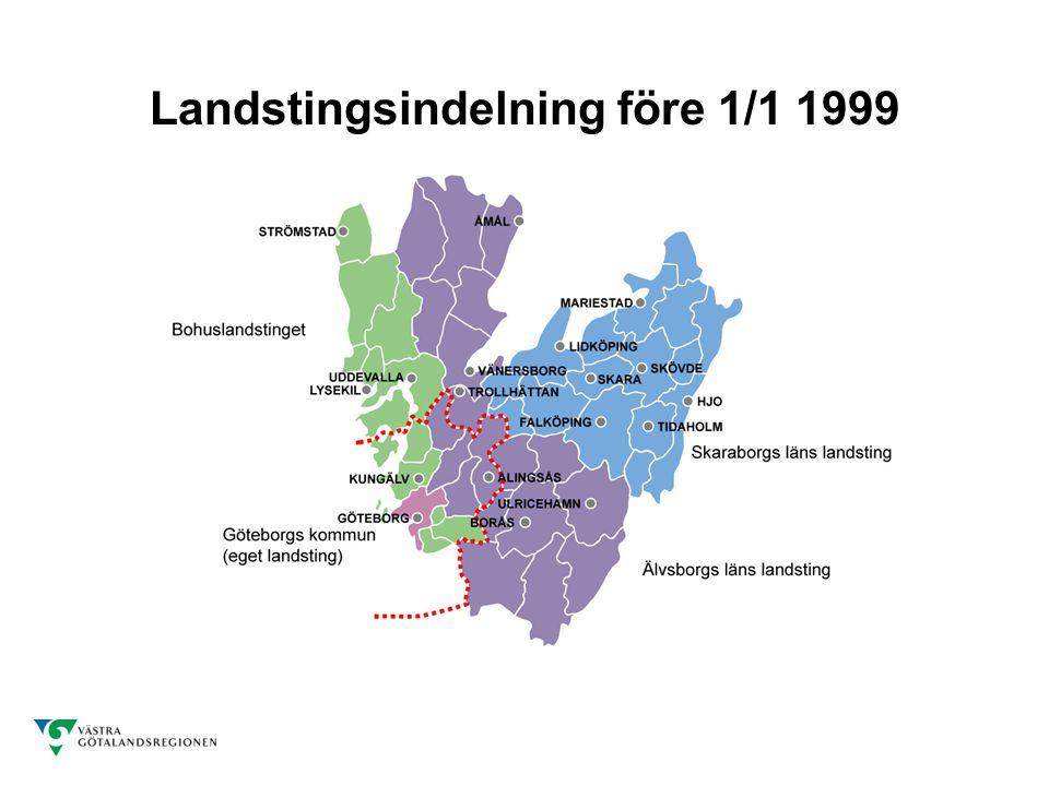 Landstingsindelning före 1/1 1999