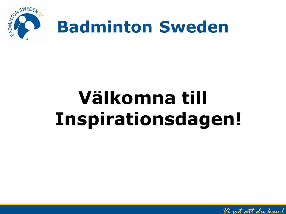 Välkomna till Inspirationsdagen!