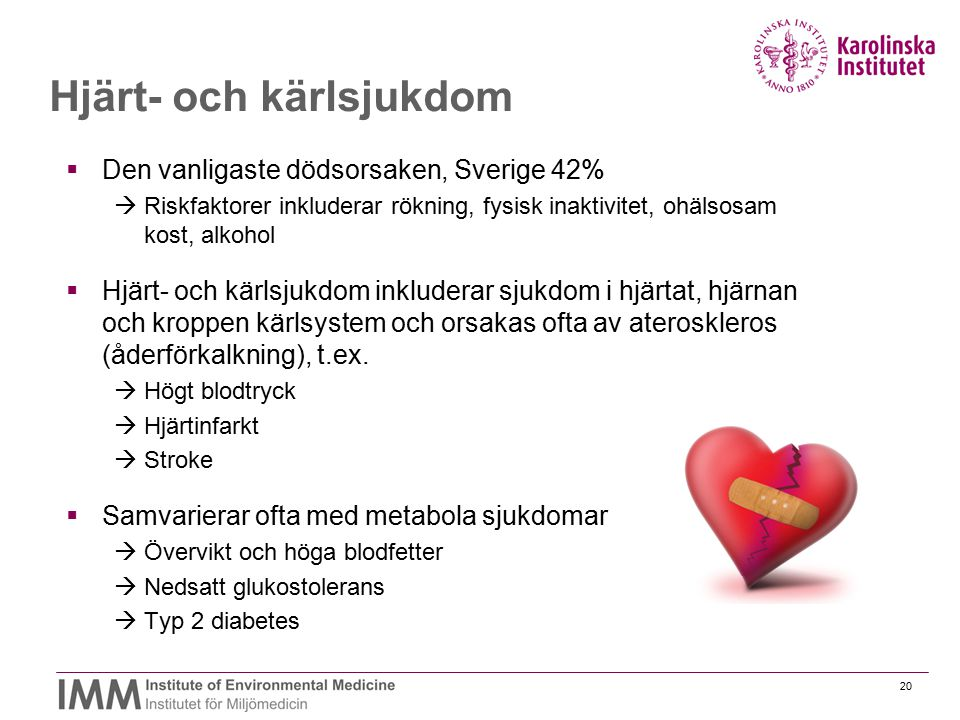 Hjärt- och kärlsjukdom