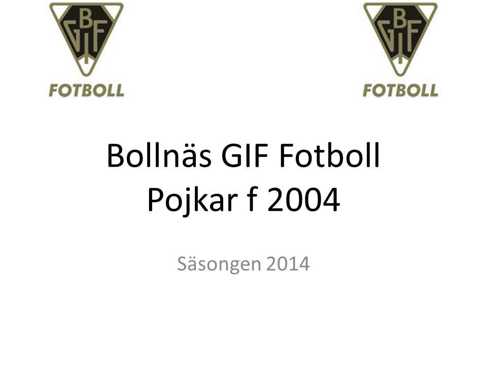 Bollnäs GIF Fotboll Pojkar f 2004