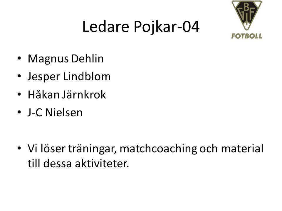 Ledare Pojkar-04 Magnus Dehlin Jesper Lindblom Håkan Järnkrok