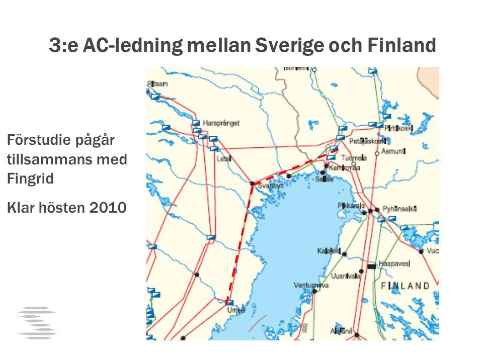 3:e AC-ledning mellan Sverige och Finland