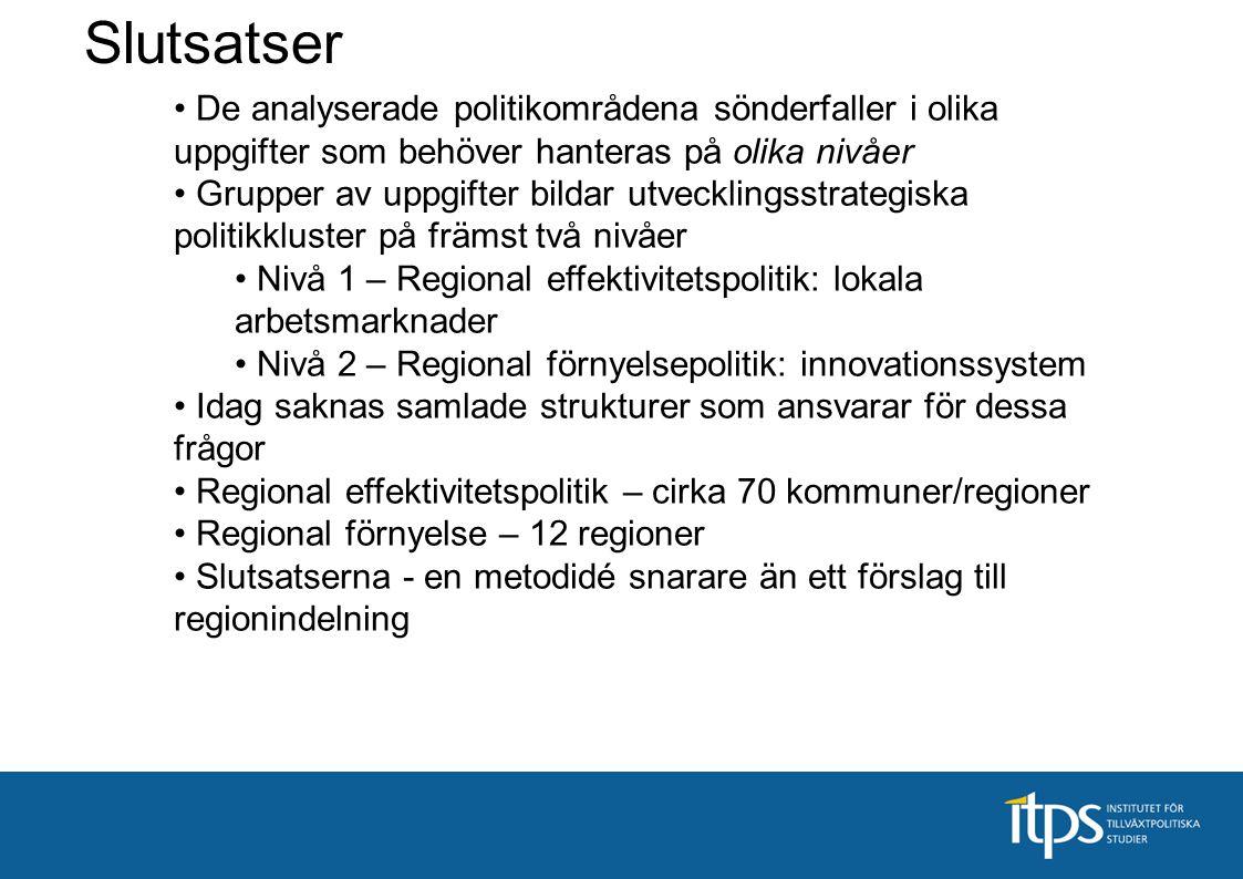 Regionala förnyelsepolitik - innovationsssystem