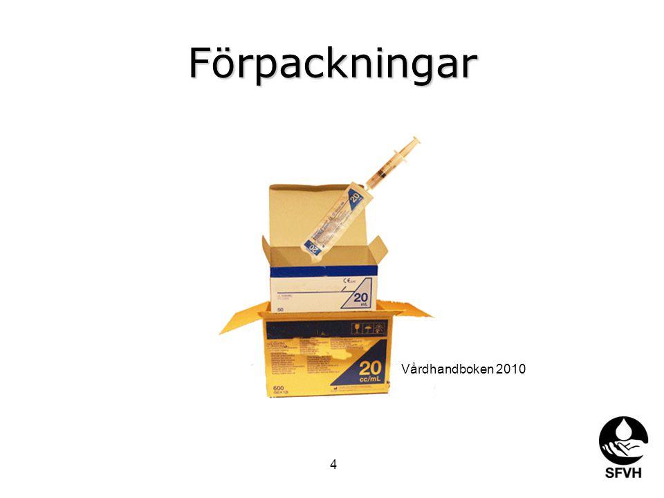 Förpackningar Vårdhandboken 2010 4