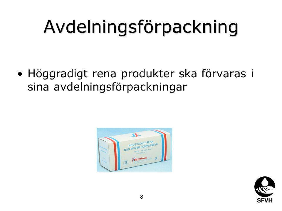 Avdelningsförpackning