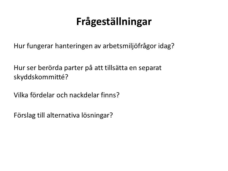 Frågeställningar