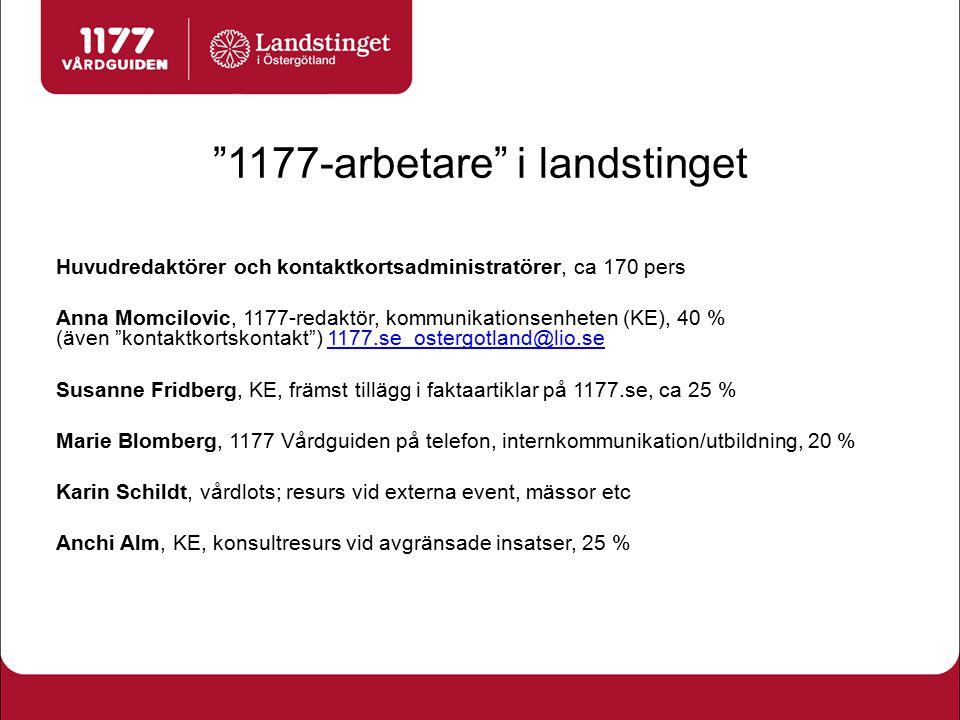 1177-arbetare i landstinget