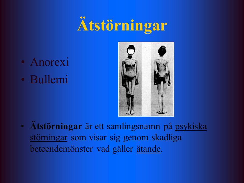 Ätstörningar Anorexi Bullemi