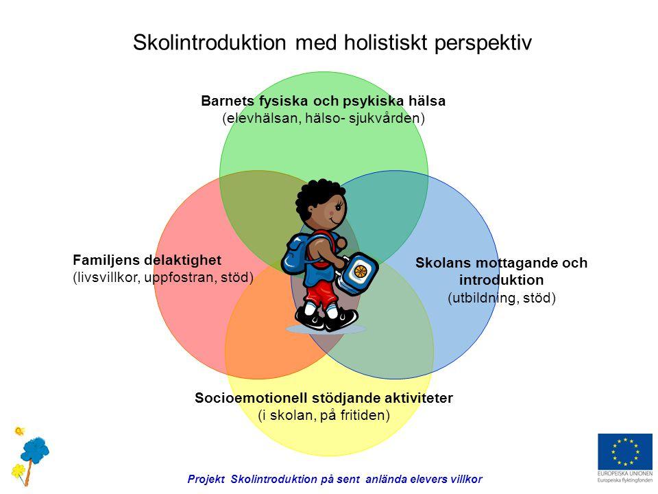 Skolintroduktion med holistiskt perspektiv