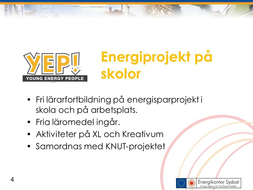 Energiprojekt på skolor