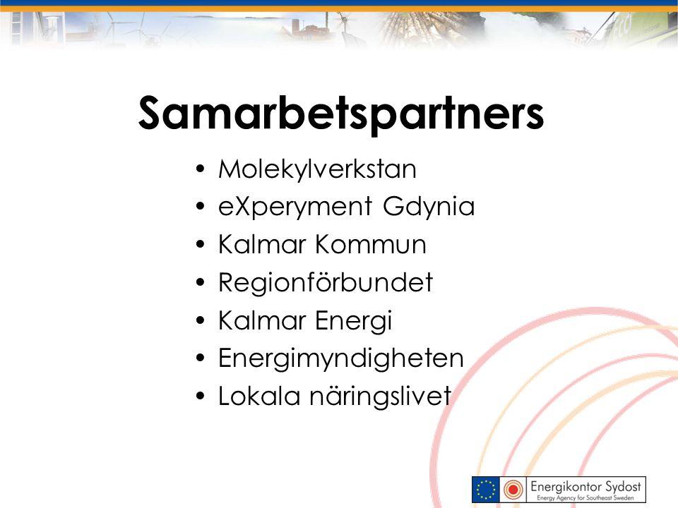 Samarbetspartners Molekylverkstan eXperyment Gdynia Kalmar Kommun