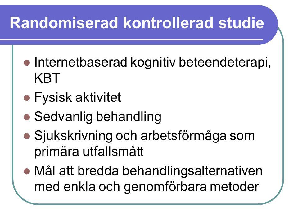 Randomiserad kontrollerad studie