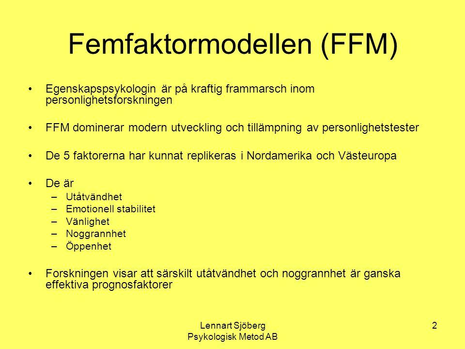 Femfaktormodellen (FFM)